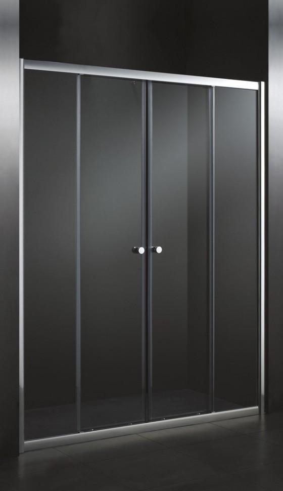 Душевая дверь раздвижная Cezares Anima 170 см текстурное стекло ANIMA-W-BF-2-170-P-Cr эспандер плечевой body form bf esh01 170 180 см 20 кг
