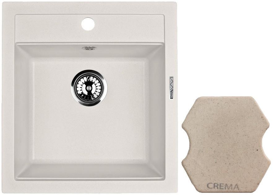 Кухонная мойка CREMA Lava Q1.CRE цена