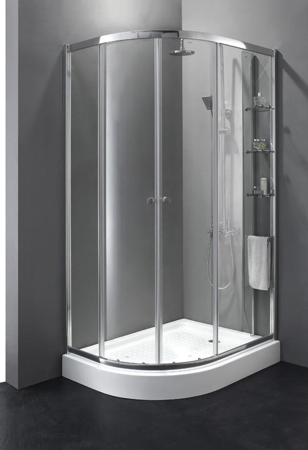 Душевой уголок Cezares Anima 120x100 см прозрачное стекло ANIMA-W-RH-2-120/100-C-Cr-R