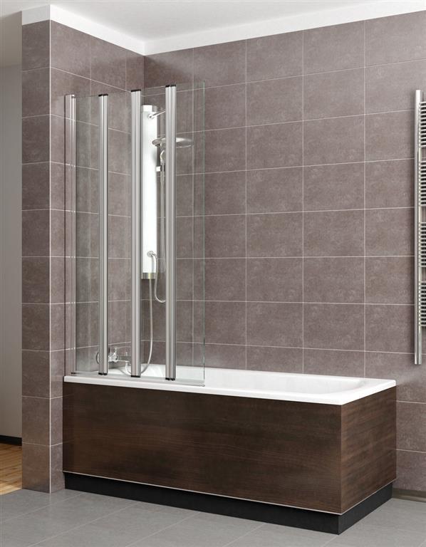 Шторка для ванны Radaway EOS PNW5 107 прозрачное шторка для ванной radaway