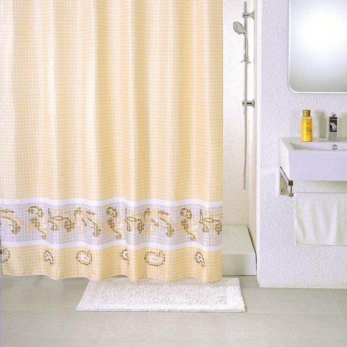 Фото - Штора для ванной комнаты Milardo Fresco SCMI013P штора для ванной комнаты milardo checked fresco scmi020p