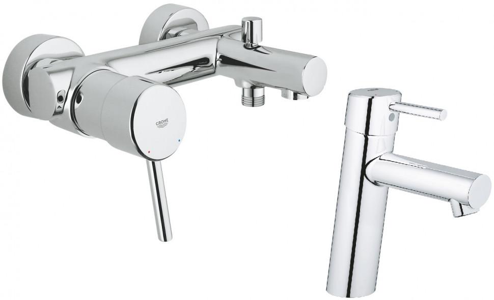 Комплект смесителей Grohe Concetto 32211001 + 23451001