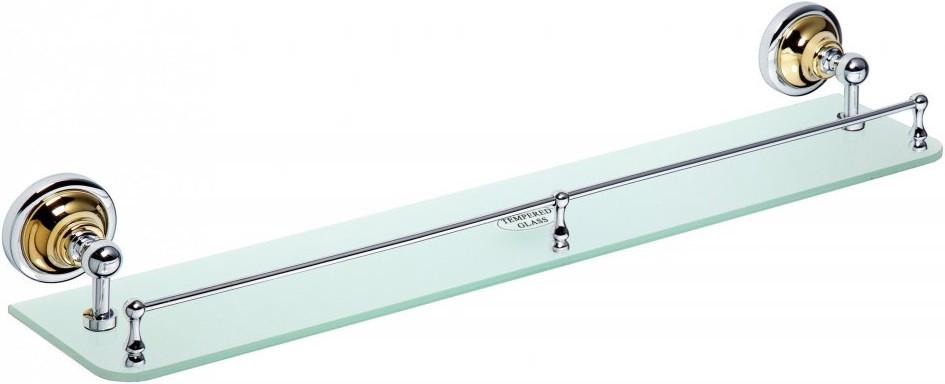 Фото - Полка стеклянная 60 см Bemeta Retro 144202268 полка стеклянная 60 см bemeta retro 144102247