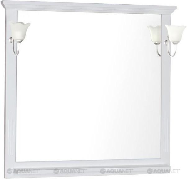 Зеркало 106,7х100 см белый Aquanet Лагуна 00175304