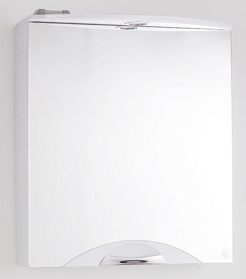 купить Зеркальный шкаф 55х71,8 см белый глянец Style Line Жасмин-2 LC-00000216 по цене 6189 рублей