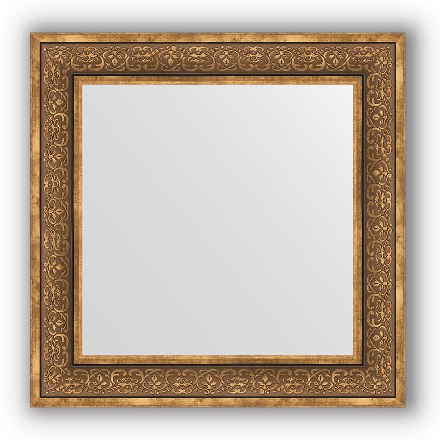 Зеркало 73х73 см вензель бронзовый Evoform Definite BY 3159 зеркало evoform definite 153х63 вензель бронзовый