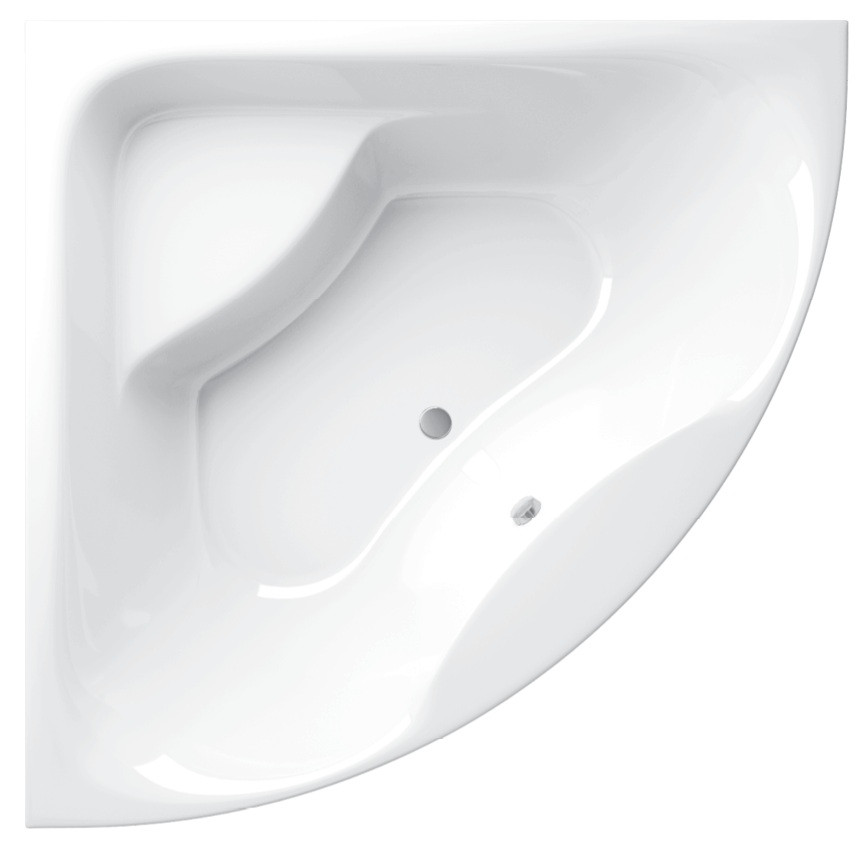 цена на Акриловая ванна 140х140 см Alpen Indiana AVB0018