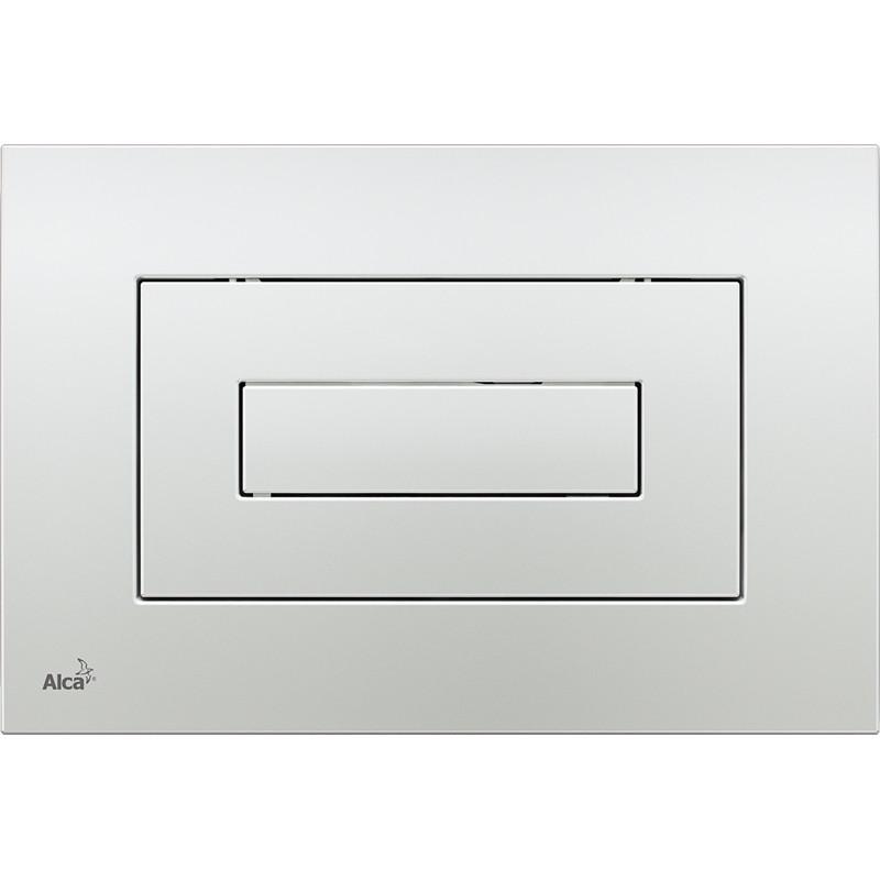 Фото - Смывная клавиша глянцевый хром для двойного смыва AlcaPlast M471 клавиша смыва alcaplast хром глянцевая m1741