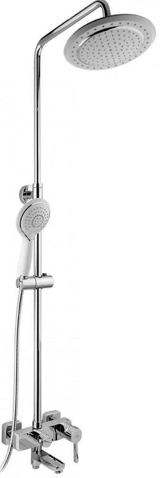 цены Душевая система Timo Hette SX-1020 white