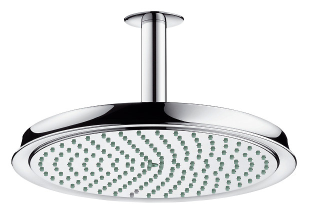 Верхний душ Hansgrohe Raindance Classic AIR Ø 240 мм, потолочное подсоединение 100 мм, ½' 27405000