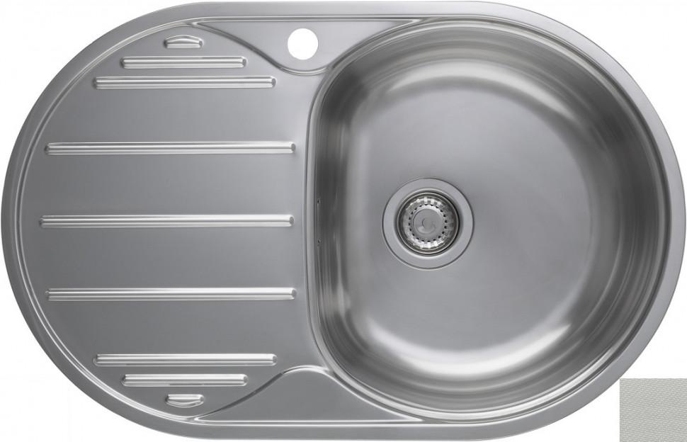 Кухонная мойка декоративная сталь Longran Eclipse ELL780.500 -GT8P 1R