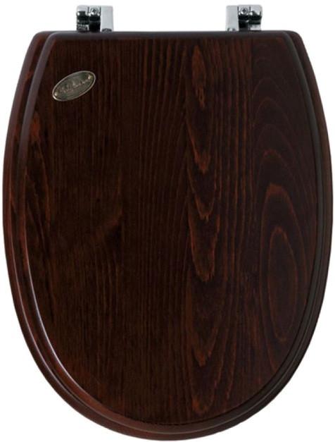 Сиденье для унитаза Simas Arcade AR004noce/cr simas arcade сиденье для унитаза с мех плав закр бел хром ar006