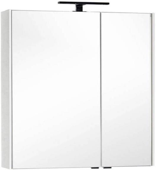 Зеркальный шкаф 85х85,1 см белый Aquanet Тулон 00182723 зеркальный шкаф 64 5х85 1 см белый aquanet тулон 00183391