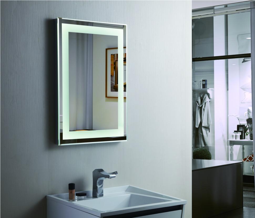 Зеркало с подсветкой 50х70 см Esbano ES-2268FD