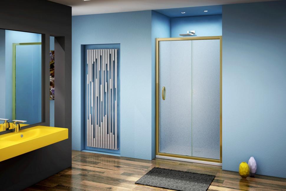 Душевая дверь 110 см Good Door Jazze WTW-110-G-BR grape modern simple fashion mechanical mute split interior door locks black bedroom kitchen bookroom solid wooden door handle locks