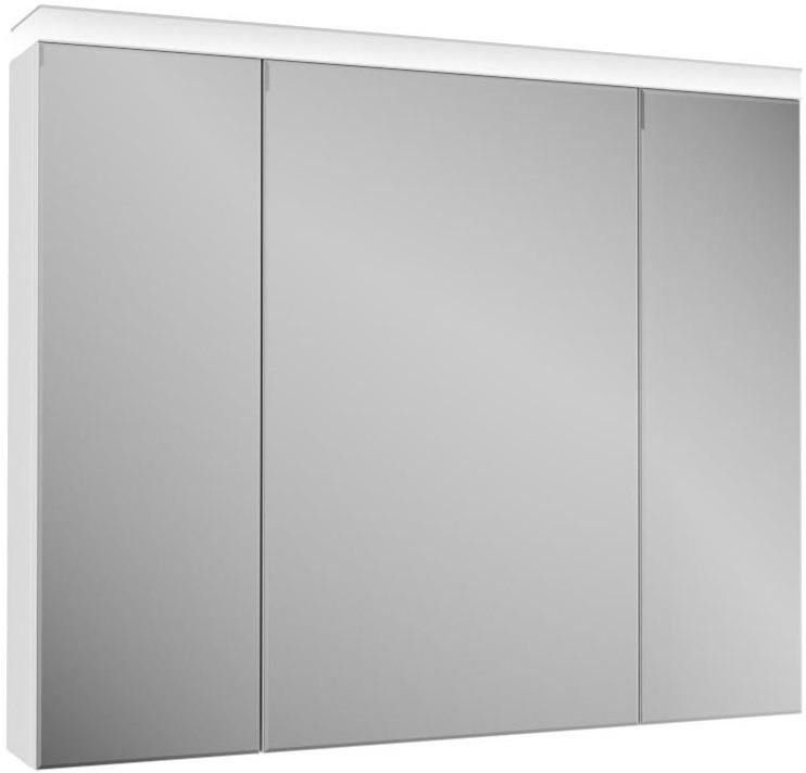 Зеркальный шкаф 101х84 см белый OWL 1975 Ragnar OW02.05.00