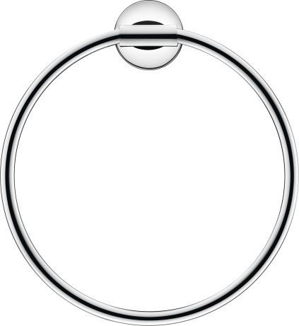 Фото - Кольцо для полотенец Duravit Starck T 0099471000 полка для полотенец 61 см duravit starck t 0099444600