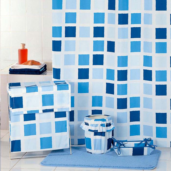 Фото - Штора для ванной комнаты Milardo Fresco SCMI020P штора для ванной комнаты milardo checked fresco scmi020p