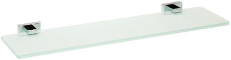 Полка стеклянная 60 см Bemeta Plaza 118102042 ведро bemeta 5l 104315012