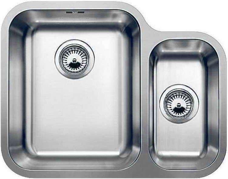 Кухонная мойка Blanco Ypsilon 550-U полированная сталь 518212 кухонная мойка blanco ypsilon 550 u нерж сталь полированная левая