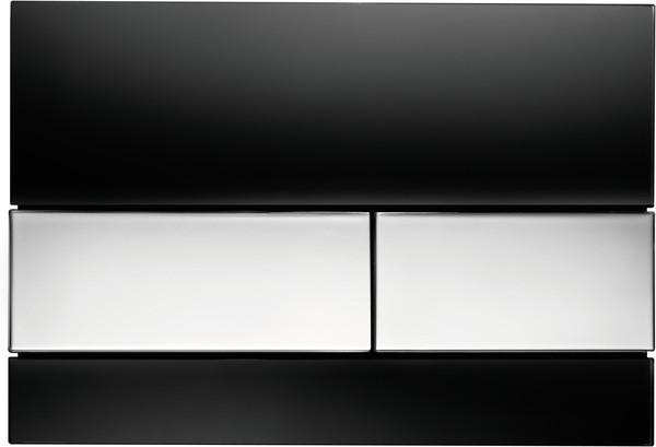 Смывная клавиша Tece TECEsquare черный/глянцевый хром 9240807 фото