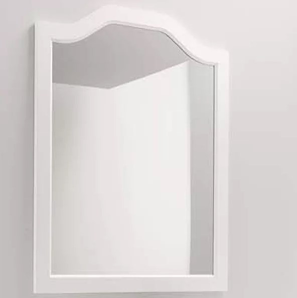 зеркало 98х70 см серебро eban selene fcrsl098a Зеркало 70х104 см состаренный белый Eban Sagomata FCRSG070Bbidecape