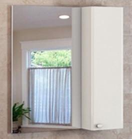 Зеркальный шкаф 75х80 см белый глянец Comforty Неаполь 00004147561 зеркальный шкаф 75х80 см белый глянец comforty неаполь 00004147561