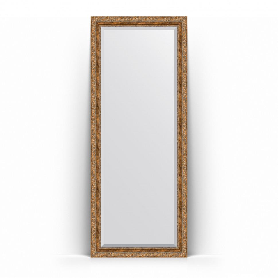 Фото - Зеркало напольное 80х200 см виньетка античная бронза Evoform Exclusive Floor BY 6114 зеркало напольное с фацетом evoform exclusive floor 80x200 см в багетной раме виньетка античная бронза 85 мм by 6114