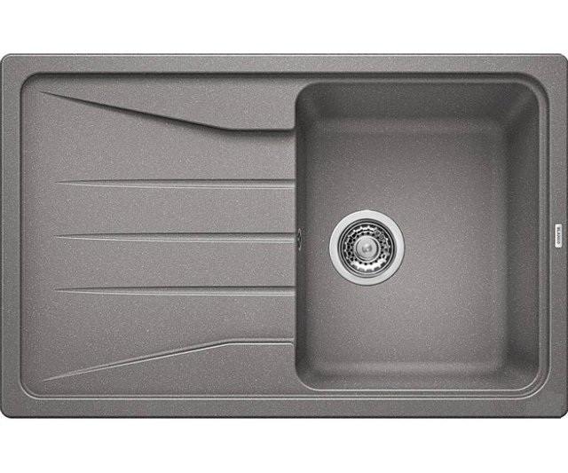 Кухонная мойка Blanco Sona 5S Алюметаллик 519673 кухонная мойка blanco sona 6s жемчужная