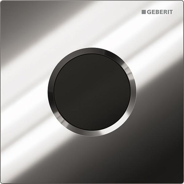 Система электронного управления смывом писсуара, питание от батарей, защитная крышка типа 01 Geberit глянцевый хром 116.031.21.5