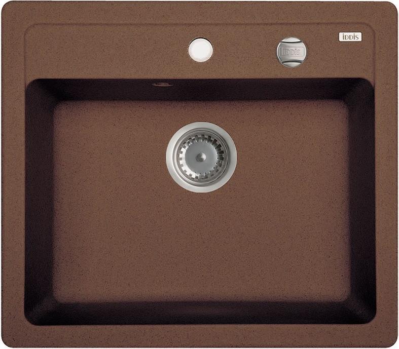 Кухонная мойка шоколад IDDIS Vane G V31C571I87 кухонная мойка iddis vane g v10w621i87 белая