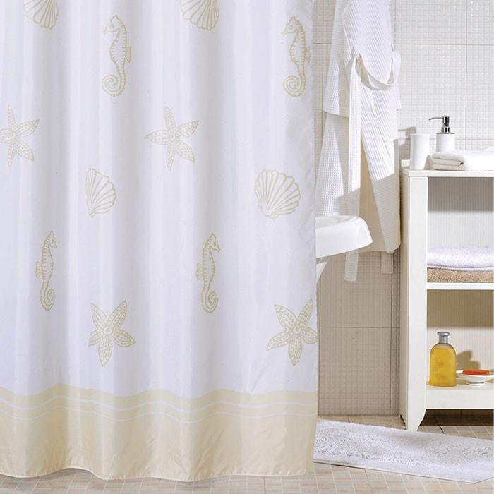 Штора для ванной комнаты Milardo Paradise SCMI060P штора для ванной dolphins milardo 180 180см