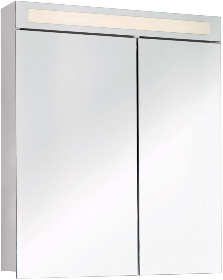 Зеркальный шкаф 60х82 см белый D Uni 99.9001