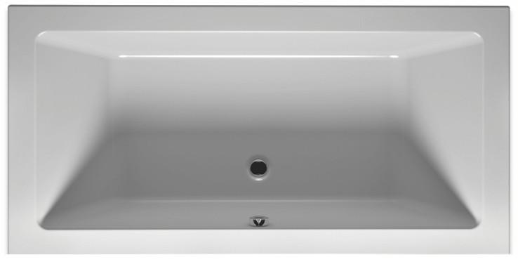 Акриловая ванна 180х80 см Riho Lusso BA9800500000000 акриловая ванна riho lusso plus 170x80 без гидромассажа ba1200500000000