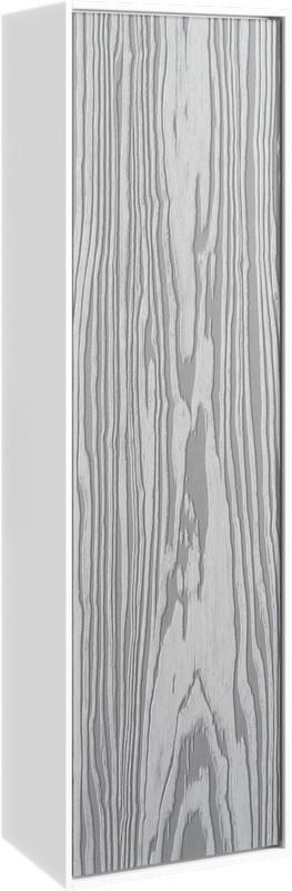 Фото - Пенал подвесной миллениум серый/белый глянец Aqwella 5 Stars Genesis GEN0535MG тумба миллениум серый белый глянец 100 см aqwella 5 stars genesis gen0310mg