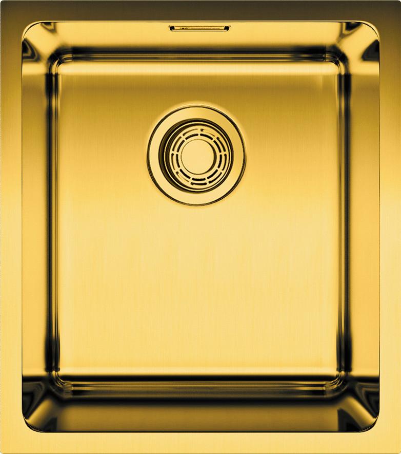 купить Кухонная мойка латунь Omoikiri Notoro 39-AB по цене 20888 рублей