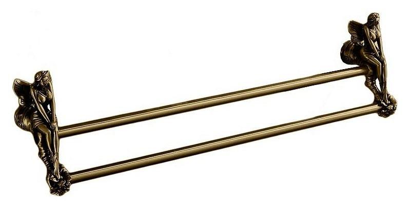 Полотенцедержатель двойной 60 см бронза Art&Max Fairy AM-0988-B 0988 qj