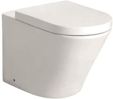 Приставной унитаз с сиденьем микролифт Grossman Modern GR-PR3011 унитаз приставной grossman elegance gr pr3015