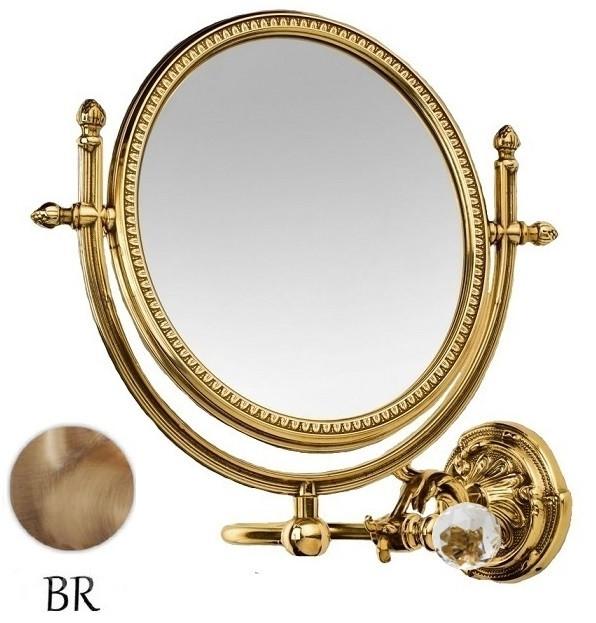 Косметическое зеркало бронза Art&Max Barocco Crystal AM-2109-Br-C