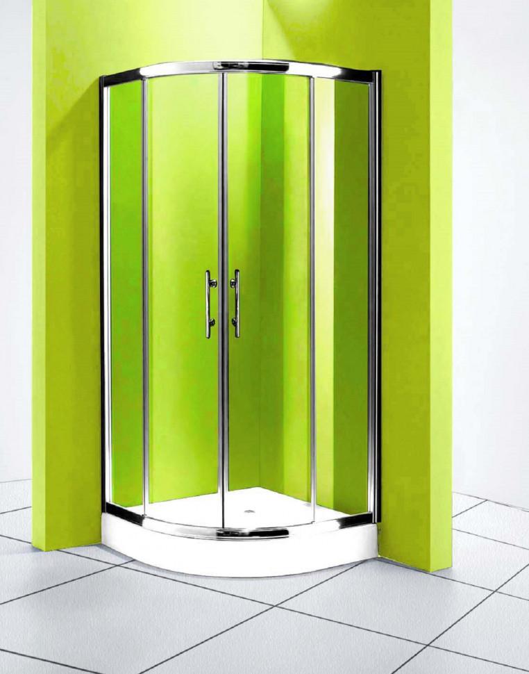 Душевой уголок 90х90 см Olive'S Granada R GRANR-900-03C рифленое фото