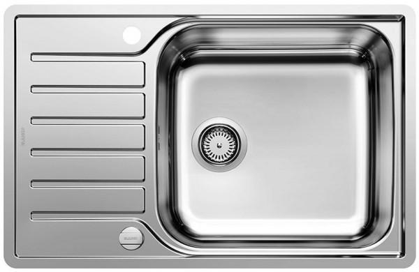Кухонная мойка Blanco Lantos XL 6S-IF полированная сталь 523140