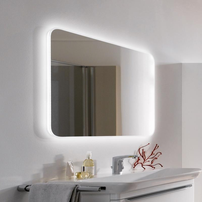 Зеркало с подсветкой 100х70 см Keramag myDay 824300000 зеркало keramag silk 816580000