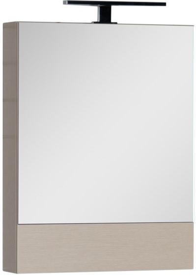 Зеркальный шкаф 50х67 см светлый дуб Aquanet Нота 00172681