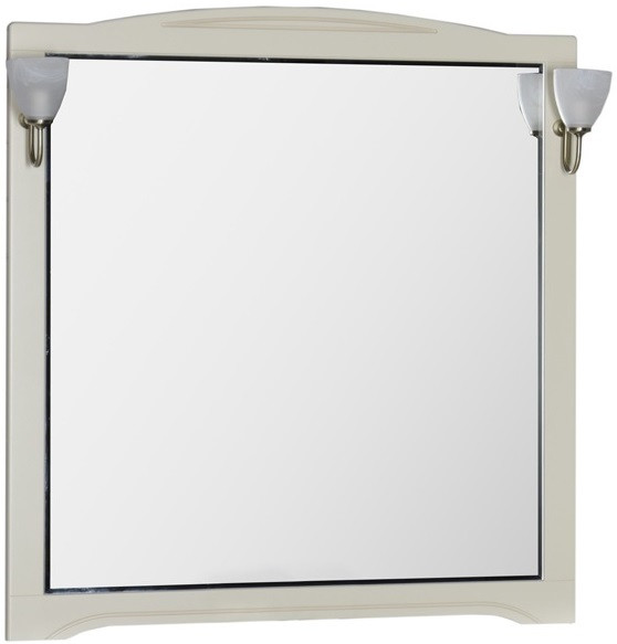 Зеркало 110х112 см бежевый Aquanet Луис 00173210