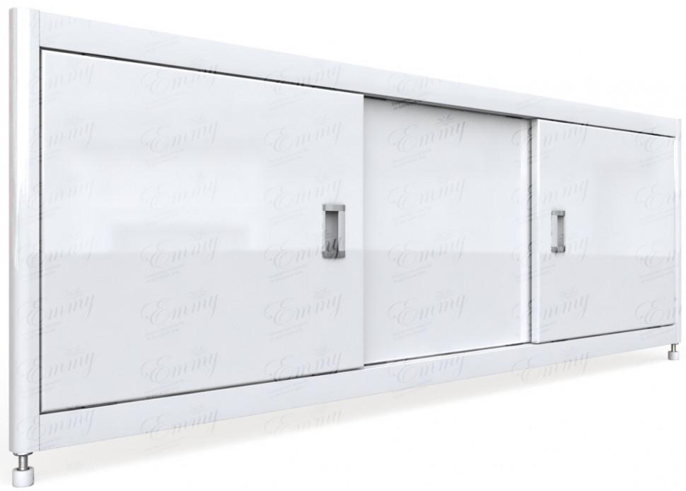 Экран под ванну 169,5х52 см белый Emmy Монро EMMYMON17052BEL фото