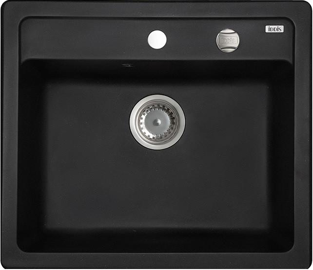 Кухонная мойка черный IDDIS Vane G V01B571I87