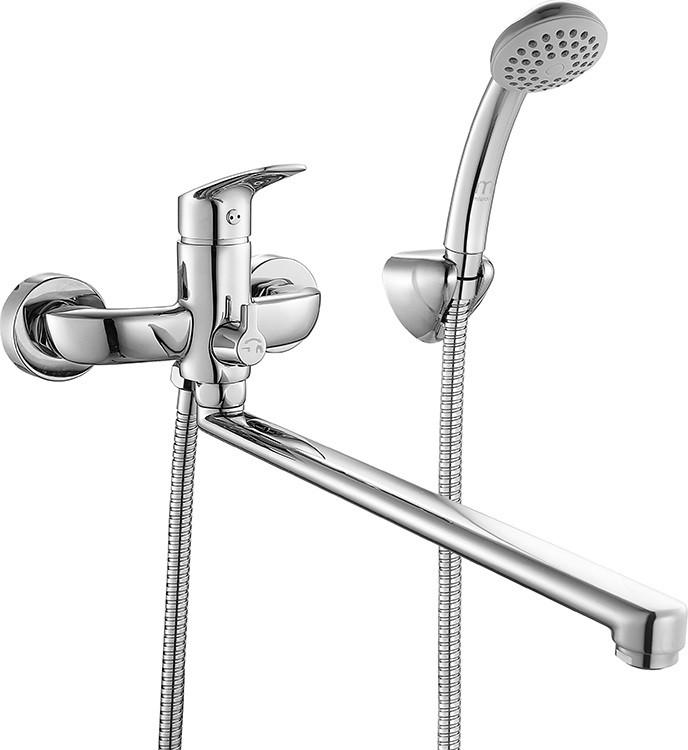 Смеситель для ванны Milardo Don DONSBLCM10 смеситель milardo bering be270bw6k w21mi