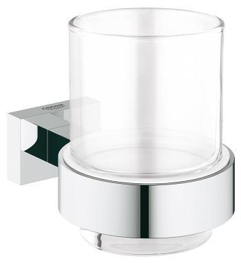 Стакан с держателем Grohe Essentials Cube 40755001