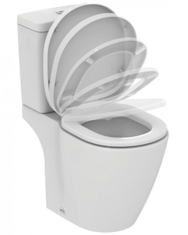 цены Чаша унитаза с горизонтальным выпуском Ideal Standard AquaBlade Connect E042901