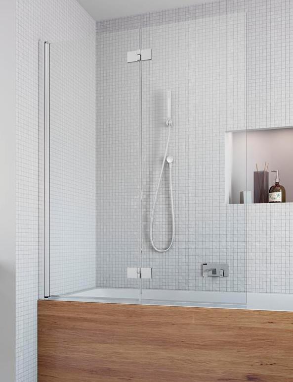 Шторка для ванны Radaway Essenza New PND 100 L прозрачное шторка для ванной radaway